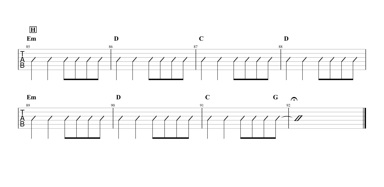 ホタル/スピッツ ギターTAB&コード譜04