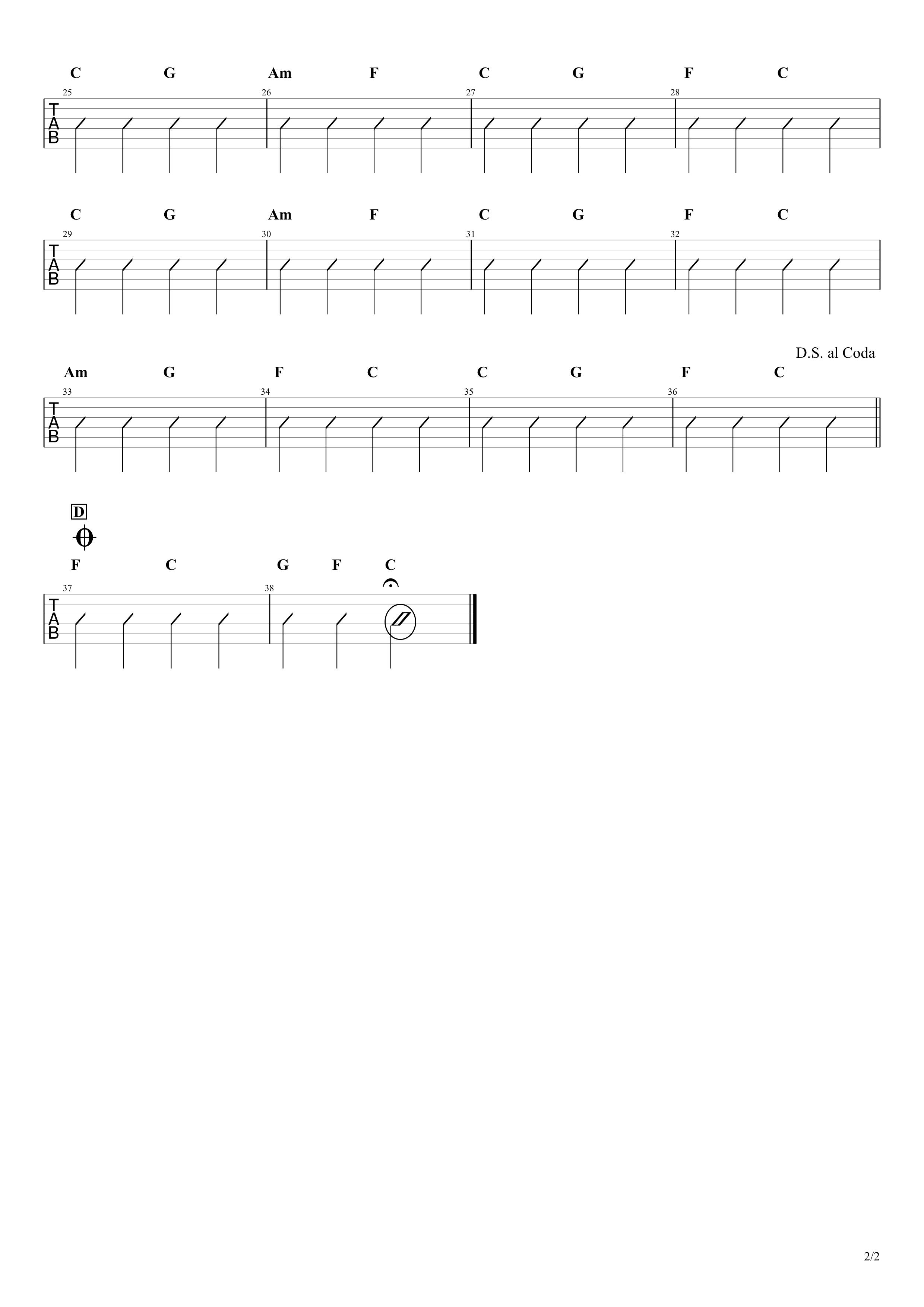レットイットビー ギター