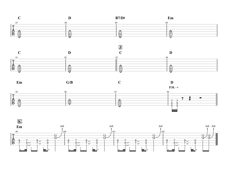 紅蓮華/LiSA ザックリ再現Ver.エレキギター向け04