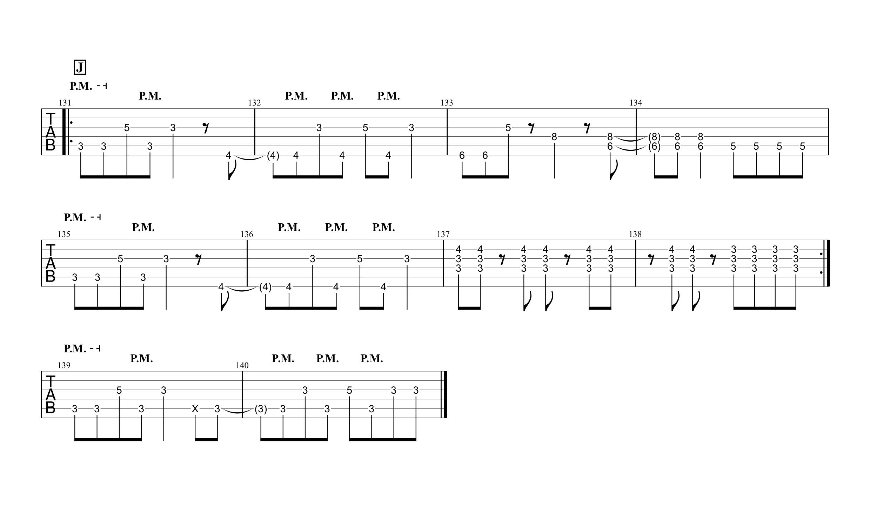 天ノ弱/164 feat.GUMI ギタータブ譜 リードギターほぼ完コピVer.05