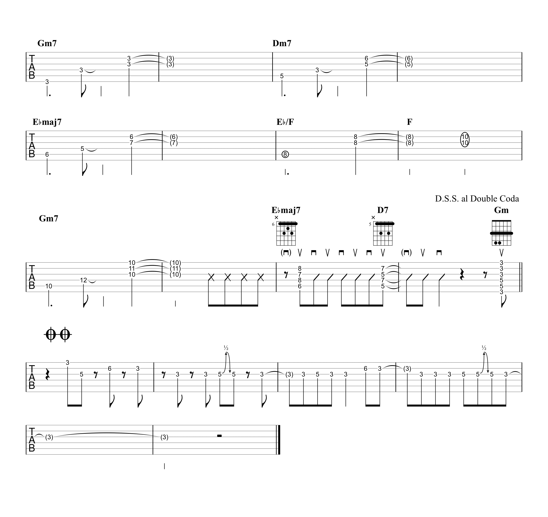 廻廻奇譚/Eve ギタータブ譜 リードギターほぼ完コピVer.05